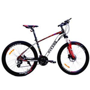 Bicicleta MTB 29 Mountain Bike Aluminio Fittoo Negro y Rojo
