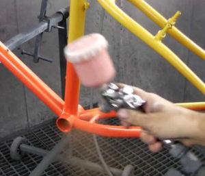 Pintamos bicicletas con los colores que quieras. Bicicletas personalizadas Ciclistyk